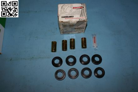 1975-1982 Corvette C3 Strut Rod Bushing Kit, Prothane 71203BL, New, Box E